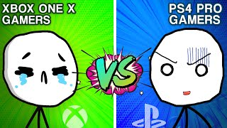 Download PS4 Pro Gamers VS XBOX ONE X Gamers Mp3 and Videos