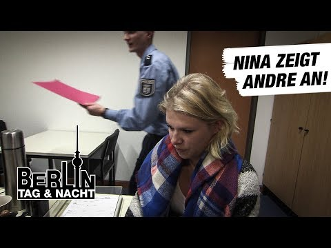 Berlin - Tag & Nacht - Nina zeigt André an! #1578 - RTL II