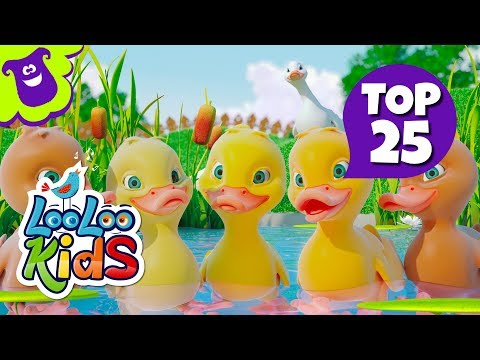 TOP 25 Happiest Songs for Children on YouTube