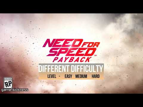 NFS Payback Game play (At different difficulty level)