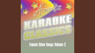Karaoke - Wind Beneath My Wings