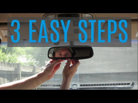How To Set Garage Door Opener >> How To Program The Garage Door Opener In Your Car In 3 Easy Steps