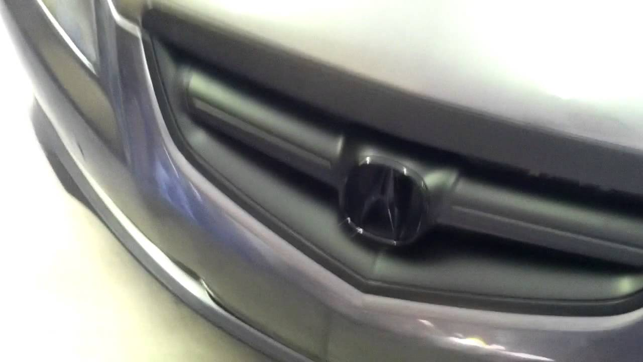 Plasti Dip Acura TL Grill Dirty Dippin Auto YouTube - 2006 acura rl grill