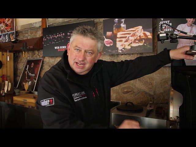 Bohnensuppe BBQ-Style