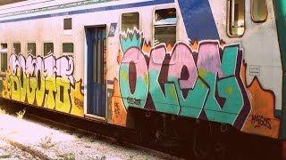 ИТАЛИЯ: Едем на поезде из Рима в Неаполь... ROME NAPLES ITALY