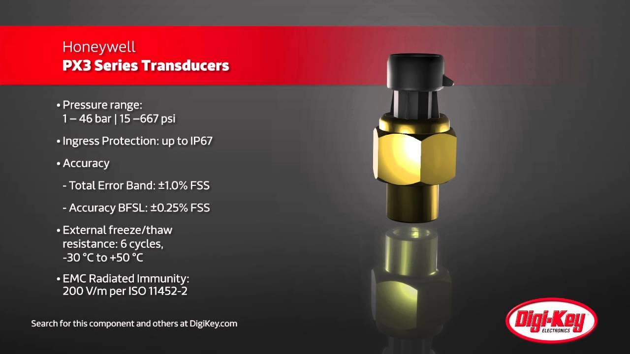 Honeywell PX3 Pressure Transducers | Digi-Key Daily - YouTube