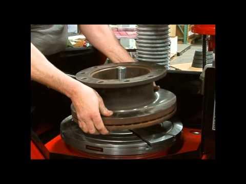 Flywheel Grinder Heavy Duty Truck Rotor Kit Demo