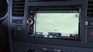 Clarion NX605 navigation receiver | Crutchfield video