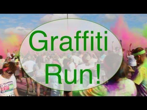 """Graffiti Run!"" Day in the Life!"