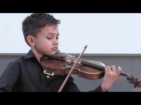 W.A. Mozart: Rondo in C-Major K. 373 - Raphael Nussbaumer, Violin