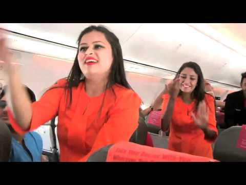 SpiceJet crew's Holi dance on plane before takeoff