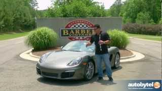 2013 Porsche Boxster S Track Test Drive & Sports Car Video Review