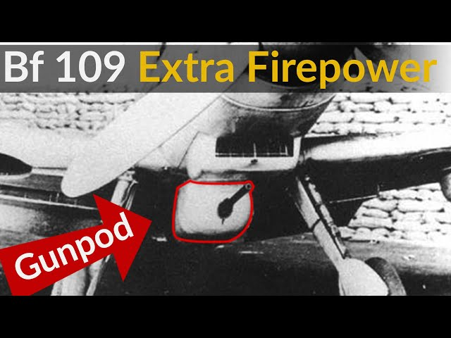Bf 109 - The Price You Pay for Firepower