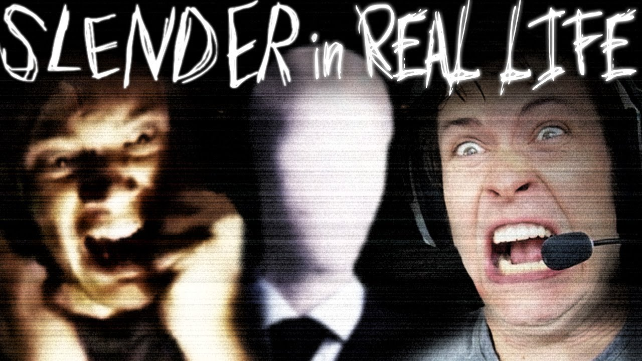 PEWDIEPIE & TOBUSCUS - SLENDER IN REAL LIFE - YouTube