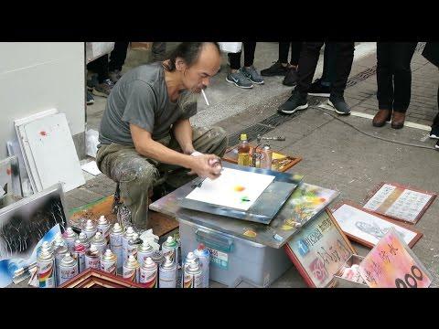 Amazing Street Artist - Taipei, Taiwan