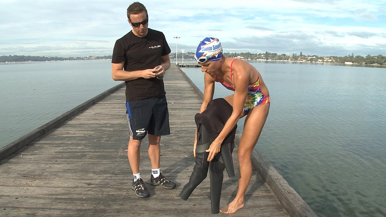 ad708e2ac79 How To Fit Your Wetsuit Properly With Paul Newsome (And Janine!) From Swim  Smooth - YouTube