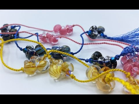 How To Make Easy Beaded Lariat Necklace