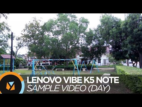 Lenovo VIBE K5 Note Review - Sample Video (Day)