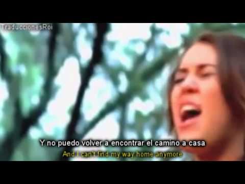 Miley Cyrus - When I look at You [Lyrics Español/Ingles] Video Official-HD-VEVO