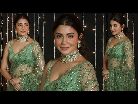 Anushka Sharma Saree Collection