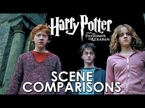 Harry Potter and the Prisoner of Azkaban - Time-turner scenes comparisons