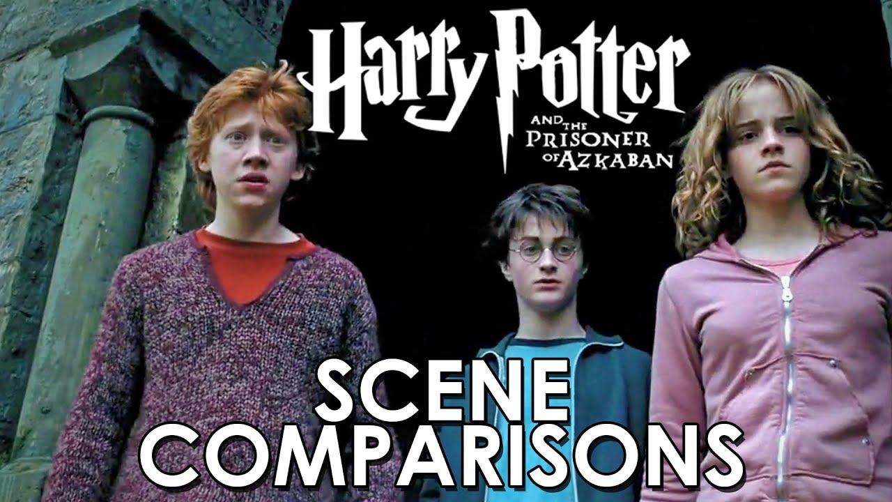 Harry Potter And The Prisoner Of Azkaban 2004 Scene Comparisons Youtube