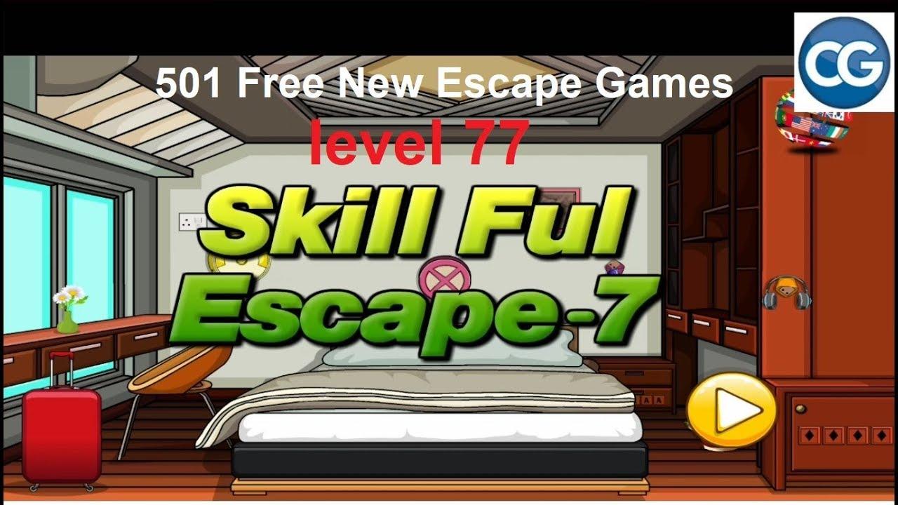 Walkthrough 501 Free New Escape Games Level 77 Skill