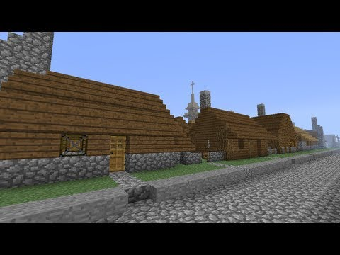 Minecraft: Medieval City - Slum District Homes [part 128 season 1]