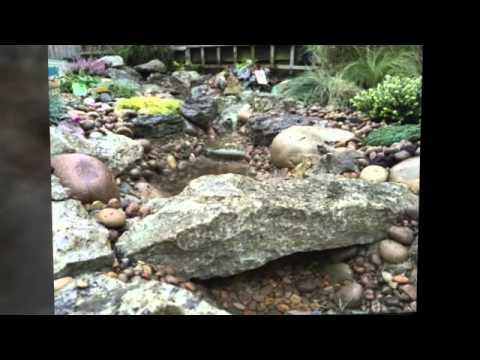 Aqua design landscaping natural stream