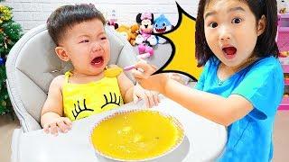 Boram's Babysitting Baby chansons et nourriture À Bébé et jeu de glaces
