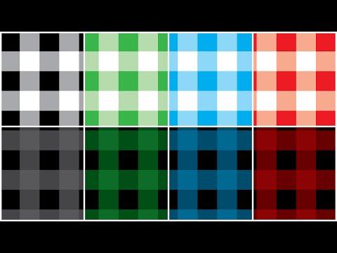Illustartor - Buffalo Check Pattern - Tutorial