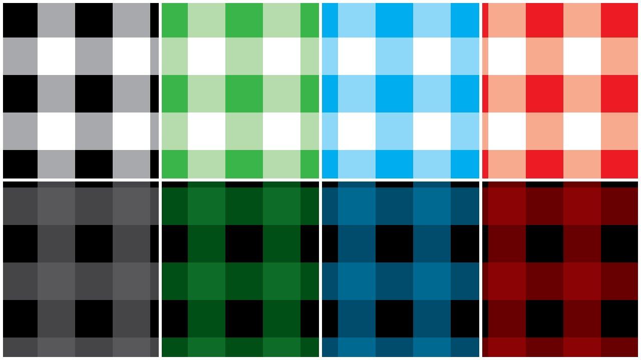 Illustartor - Buffalo Check Pattern - Tutorial - YouTube