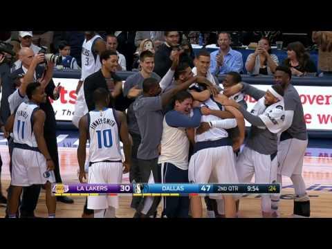 Los Angeles Lakers at Dallas Mavericks - March 7, 2017
