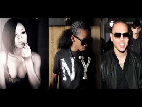 Rihanna Chris Brown and Kcaz- Cinderella (Umbrella Remix)