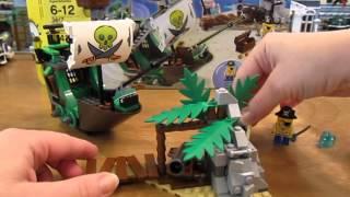 Lego Set 3817 Spongebob Squarepants The Flying Dutchman Review!