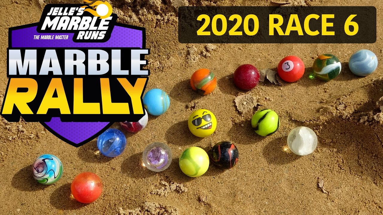 The AMAZING Sand Marble Rally - Race 6!