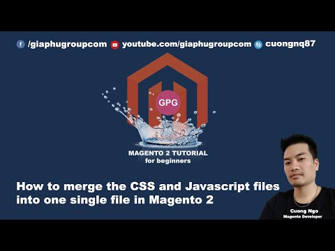 How to merge the CSS and Javascript files into one single file in Magento 2