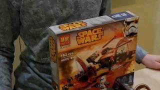 обзор лего 75085 ''колёсный дроид'' (для конкруса Brick Story)