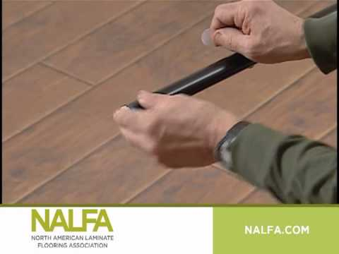 Installing Laminate Flooring Part Six Care Maintenance Youtube
