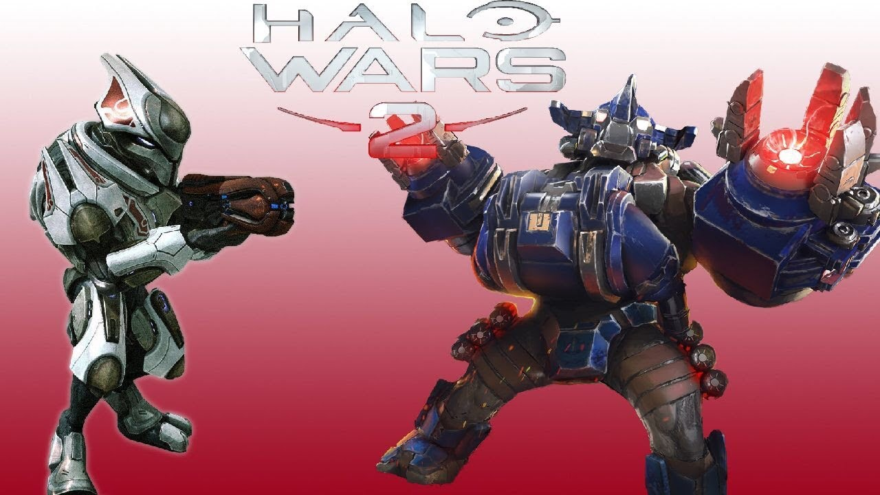 Halo Wars Elite Elite Enforcers vs Bru...