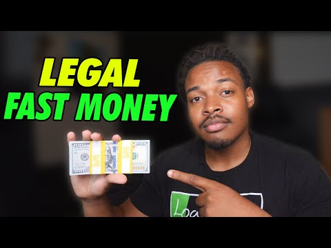 7 legal Ways to make Fast Money | try this