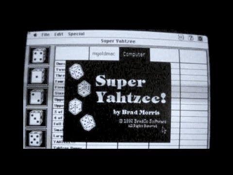 Super Yahtzee | Game Demo | Macintosh 1992