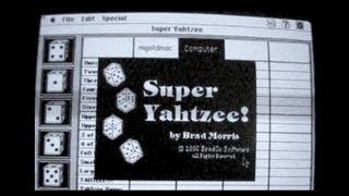 Super Yahtzee | Game Demo | Macintosh 1992