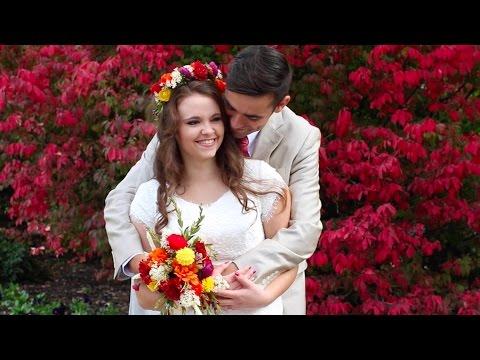 SAVANNA + TAYLOR  || SALT LAKE TEMPLE || WEDDING VIDEO