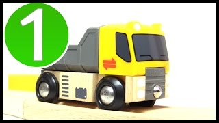 Brio Toys Construction Site! Learn Numbers (1) Learn To Count Trucks & Railway Trains