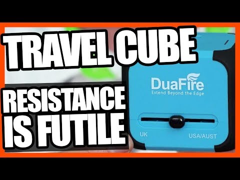 DuaFire Travel Power Adapter With USB Review | EpicReviewGuys