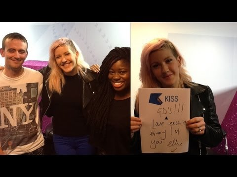 Ellie Goulding Live @ KISS FM (UK)