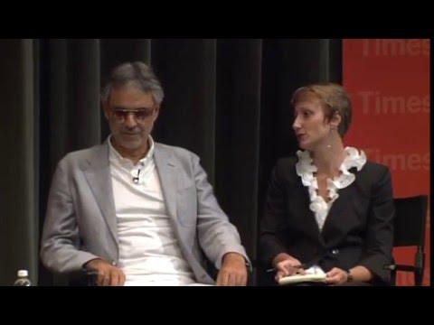 Andrea Bocelli | Interview | TimesTalks