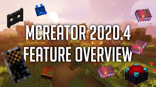 MCreator 2020.4 Feature Overview