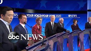 Presidential Candidates Clash In Latest Democratic Debate